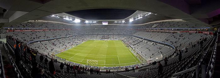 Allianz Arena: Nach dem Champions League-Halbfinal-Hinspiel FC Bayern München - Real Madrid München 2012