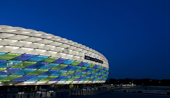 München Allianz Arena: Vor dem UEFA Champions League-Finale 2012