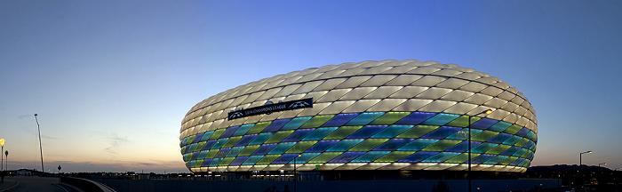 Allianz Arena: Vor dem UEFA Champions League-Finale 2012 München 2012