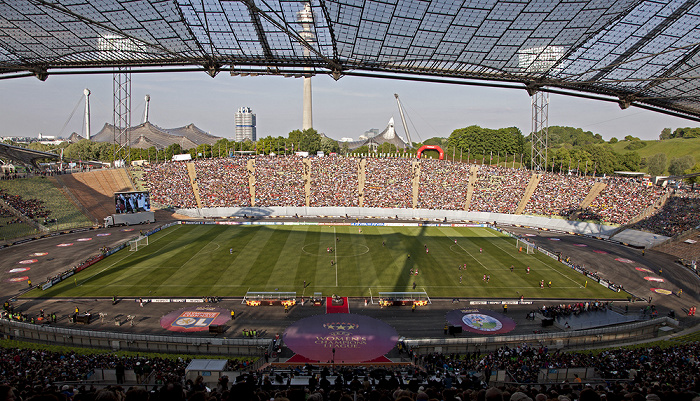 Olympiastadion: UEFA Women's Champions League Final Olympique Lyon - 1. FFC Frankfurt München 2012