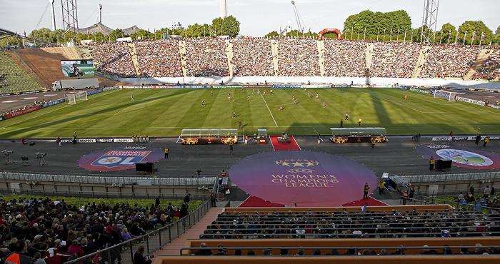 München Olympiastadion: UEFA Women's Champions League Final Olympique Lyon - 1. FFC Frankfurt