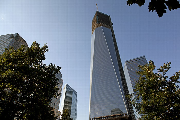 New York World Trade Center Site (Ground Zero): One World Trade Center 7 World Trade Center Goldman Sachs Tower World Financial Center