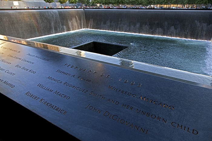 New York World Trade Center Site (Ground Zero): 9/11 Memorial - North Pool