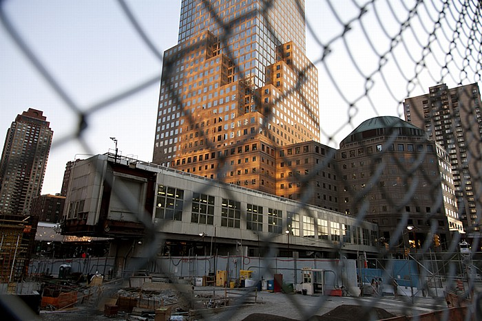 New York World Trade Center Site (Ground Zero): One World Financial Center West Street