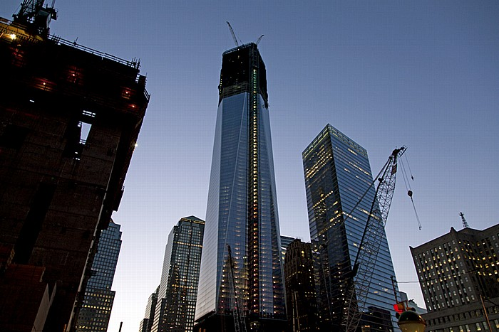 World Trade Center Site (Ground Zero): One World Trade Center und 7 World Trade Center New York City
