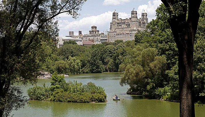 Central Park: The Lake New York City