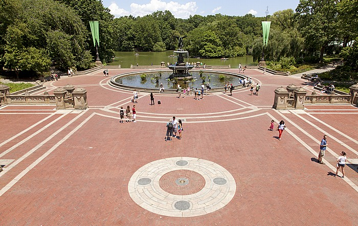 Central Park: Bethesda Terrace New York City
