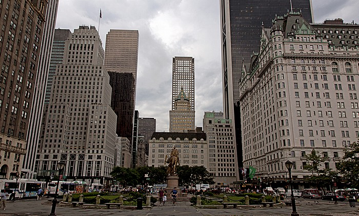 New York Grand Army Plaza 712 Fifth Avenue 745 Fifth Avenue Bergdorf Goodman Fifth Avenue General Motors Building General William Tecunseh Sherman Statue Sherry Netherland Hotel Solow Building The Crown Building The Plaza Hotel Trump Tower