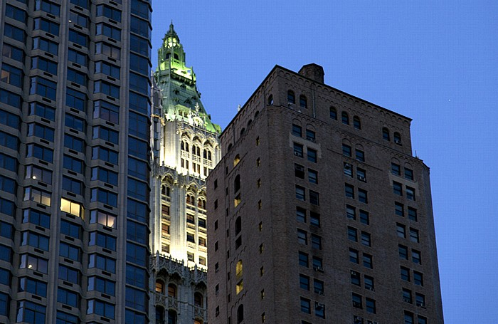 Financial District / TirBeCa: Woolworth Building New York City