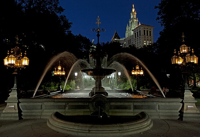 Civic Center: City Hall Park New York City