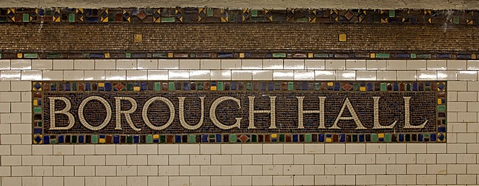 New York City Brooklyn: Borough Hall Subway Station