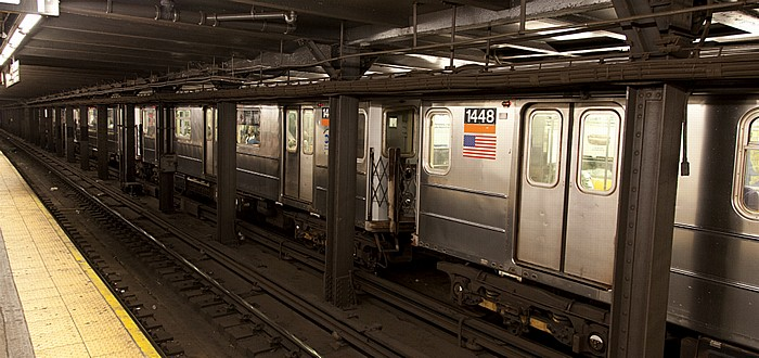 New York City Manhattan: Chambers Street Subway Station