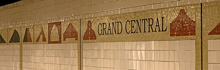 New York City Manhattan: Grand Central-42nd Street Subway Station