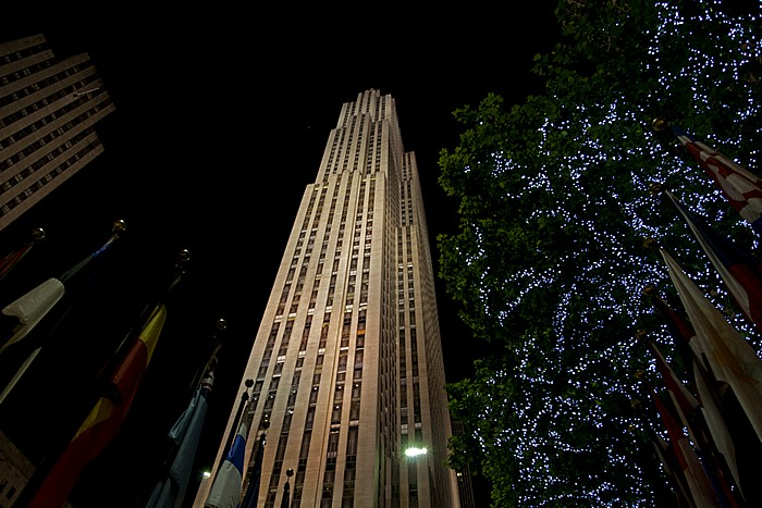 Rockefeller Center: GE Building New York City