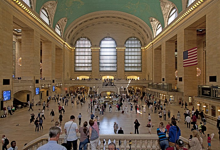 New York Grand Central Terminal: Haupthalle