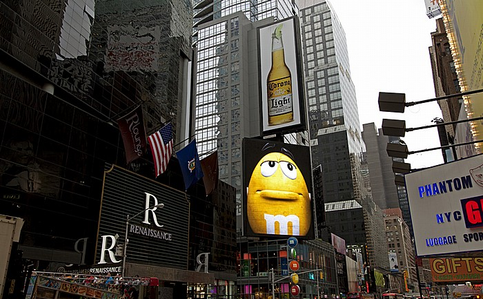 New York Times Square (Duffy Square) M&M's Store