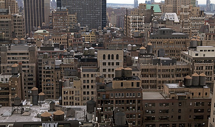 New York Blick aus dem Hilton Times Square: Manhattan Midtown Garment District