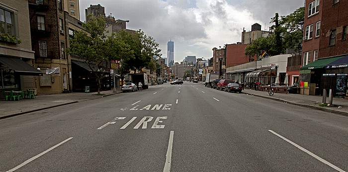 New York West Village (Greenwich Village): 7th Avenue One World Trade Center World Trade Center