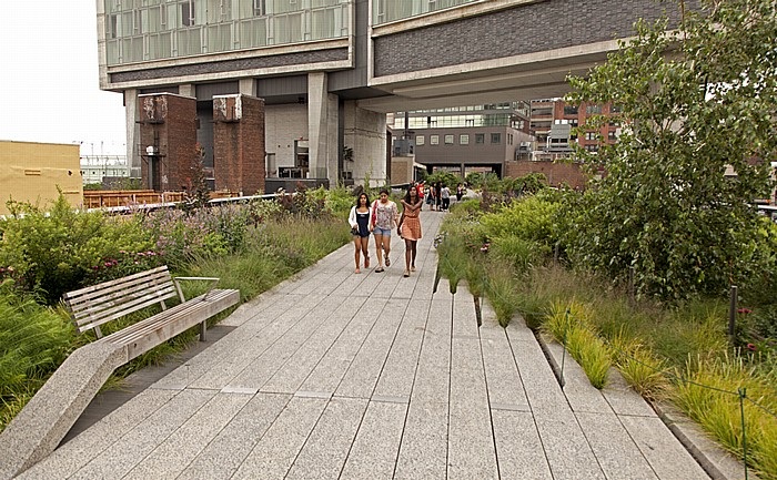 New York City West Village (Greenwich Village): High Line Park