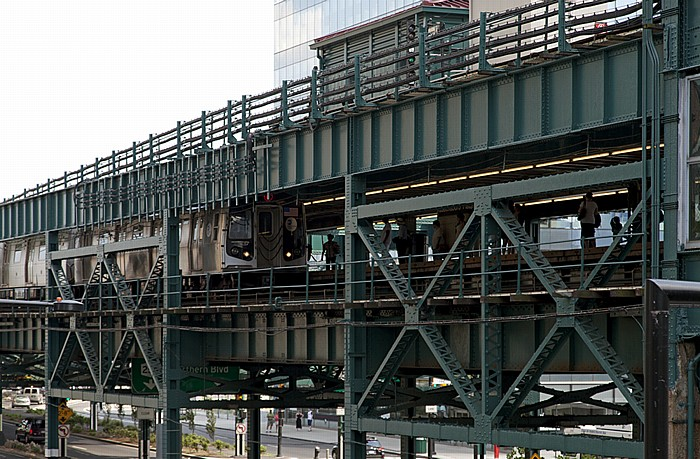 New York Long Island City (Queens): Queensboro Plaza Subway Station