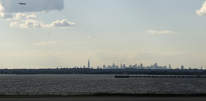 New York John F. Kennedy International Airport Empire State Building Manhattan Midtown