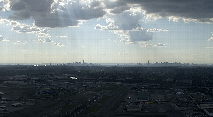 New York John F. Kennedy International Airport in Queens Manhattan Midtown