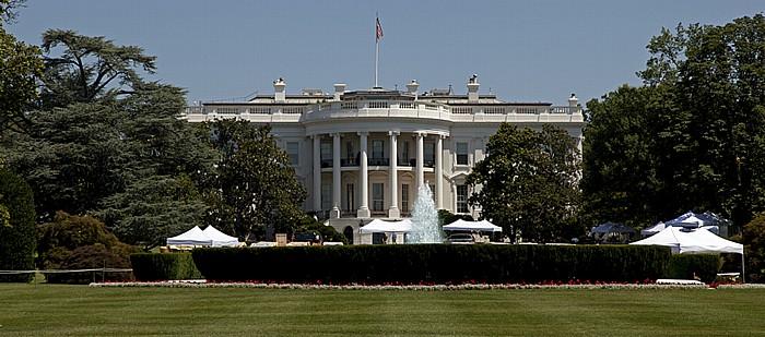 President's Park: Weißes Haus (White House) Washington, D.C.