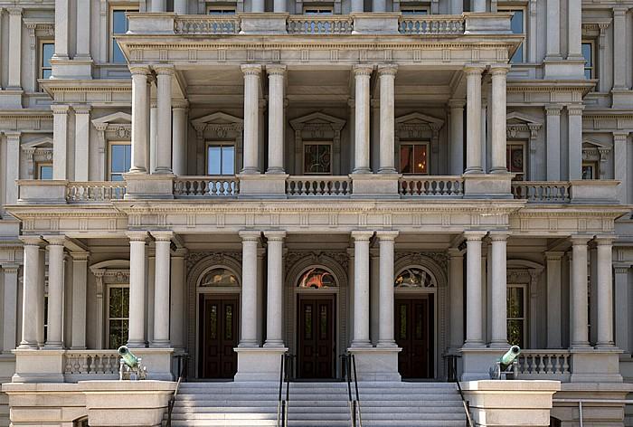 Pennsylvania Avenue: Eisenhower Executive Office Building (EEOB) Washington, D.C.