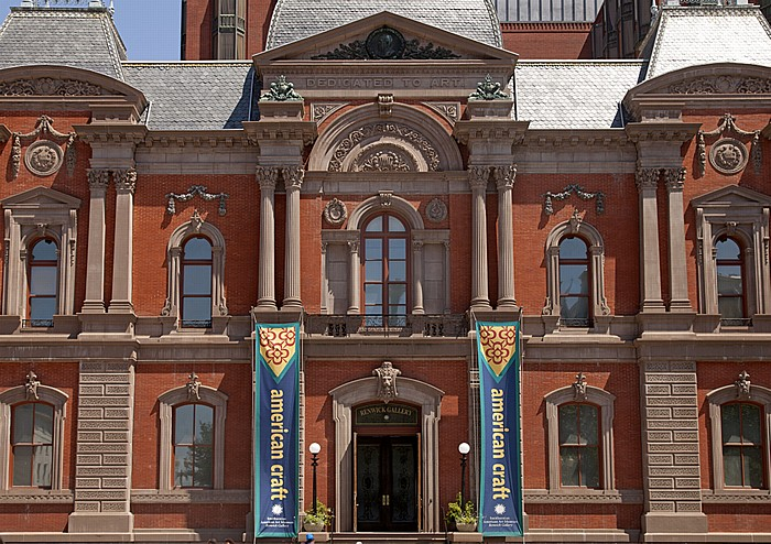 Washington, D.C. Pennsylvania Avenue: Renwick Gallery of the Smithsonian American Art Museum