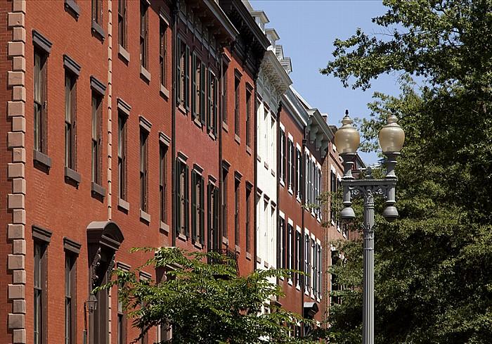 Lafayette Square: Carnegie Endowment for International Peace (Peter Parker House) Washington, D.C.