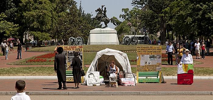 President's Park: Pennsylvania Avenue / Lafayette Square Washington, D.C.