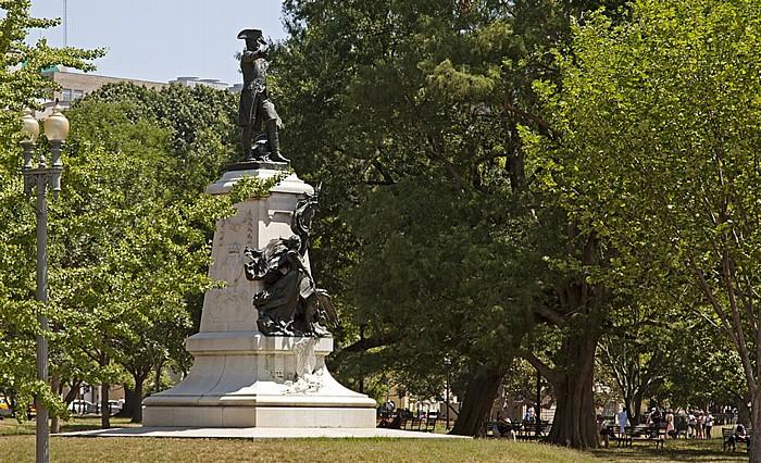 President's Park: Lafayette Square - General-Rochambeau-Denkmal Washington, D.C.