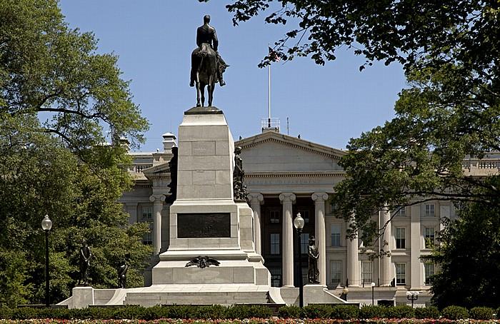President's Park: General William Tecumseh Sherman Monument Washington, D.C.
