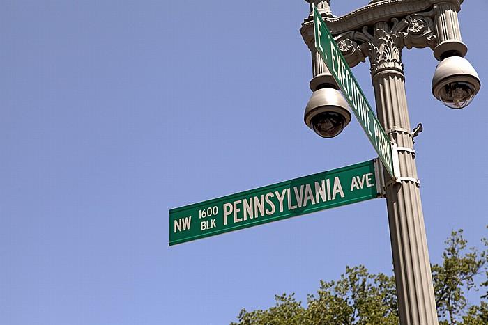 President's Park: Pennsylvania Avenue / East Executive Park Washington, D.C.
