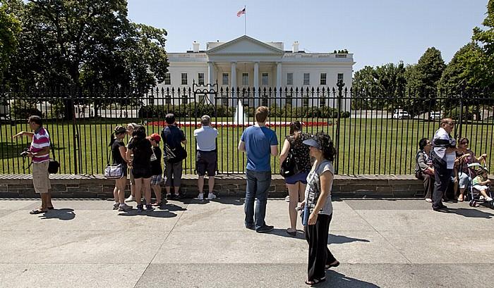 President's Park: Pensylvania Avenue und Weißes Haus (White House) Washington, D.C.