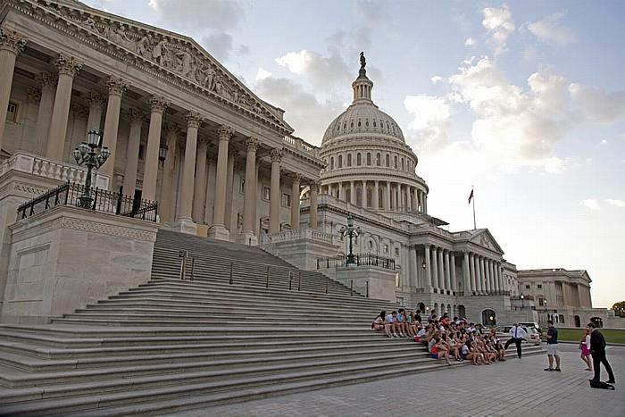 Washington, D.C. Capitol Hill: Kapitol (United States Capitol) - Ostseite