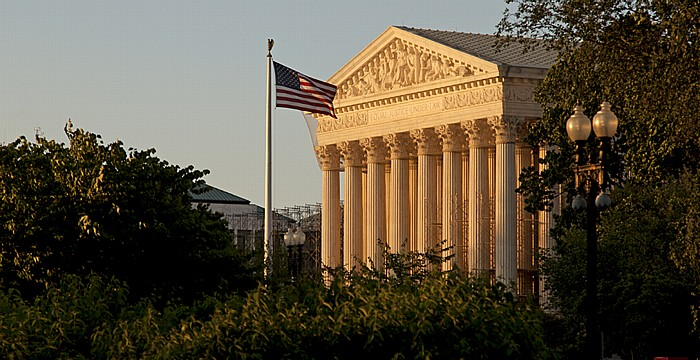 Washington, D.C. Capitol Hill: First Street - Supreme Court of the United States