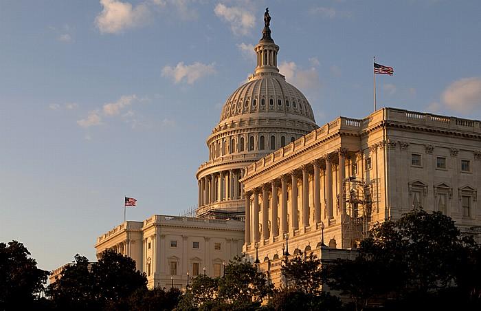 Washington, D.C. Capitol Hill: Kapitol (United States Capitol) - Westseite