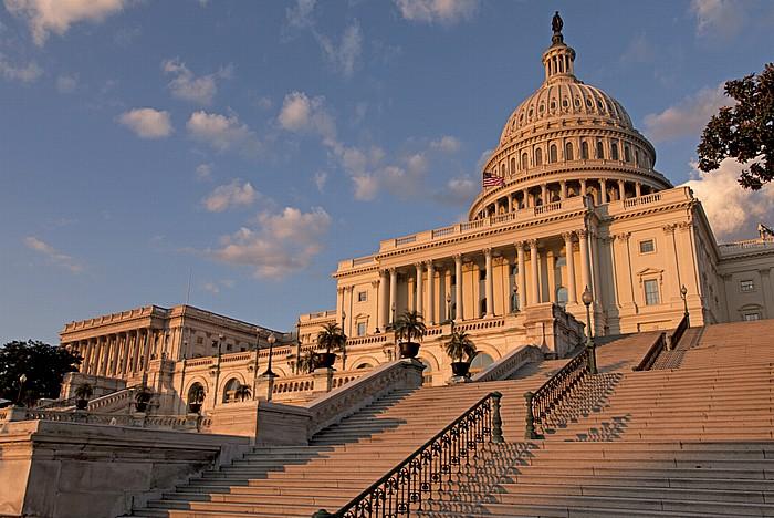 Capitol Hill: Kapitol (United States Capitol) - Westseite Washington, D.C.