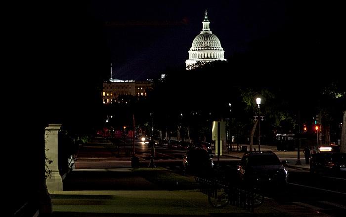 Washington, D.C. National Mall: Madison Drive Capitol Hill Kapitol