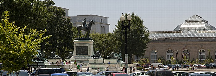 Washington, D.C. National Mall: Ulysses S. Grant Memorial Rayburn House Office Building United States Botanic Garden