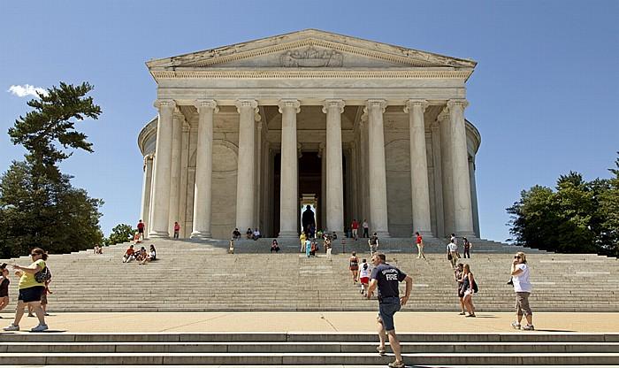 Washington, D.C. West Potomac Park: Jefferson Memorial