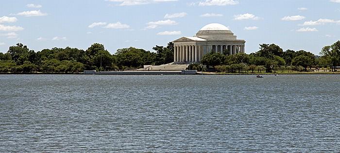 Washington, D.C. West Potomac Park: Tidal Basin und  Jefferson Memorial