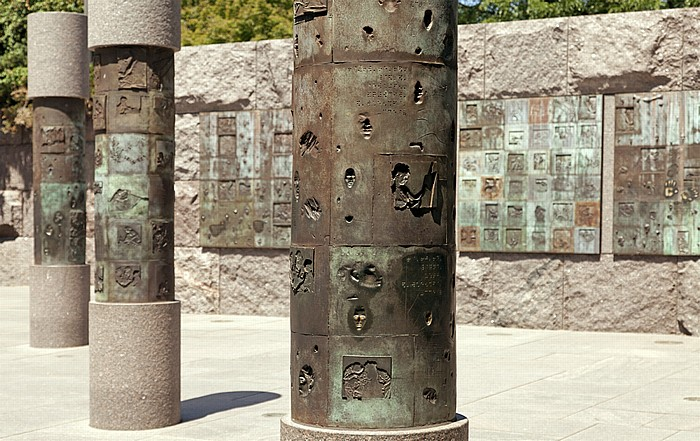 West Potomac Park: Franklin Delano Roosevelt Memorial Washington, D.C.