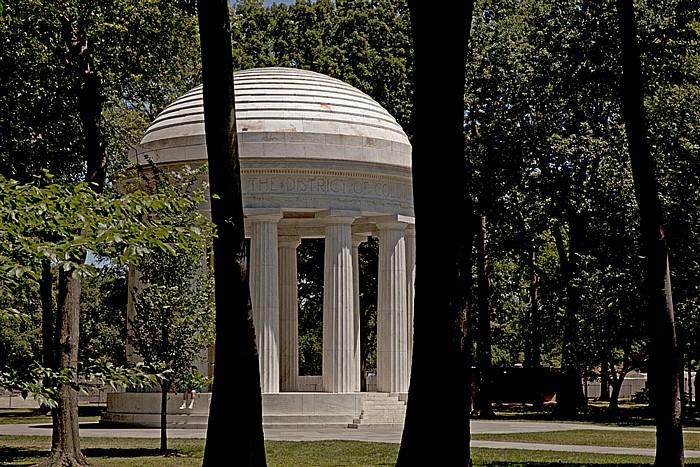 Washington, D.C. West Potomac Park: District of Columbia War Memorial