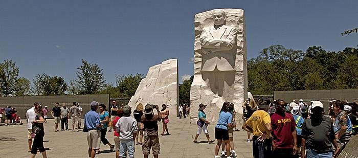 Washington, D.C. West Potomac Park: Martin Luther King, Jr. Memorial