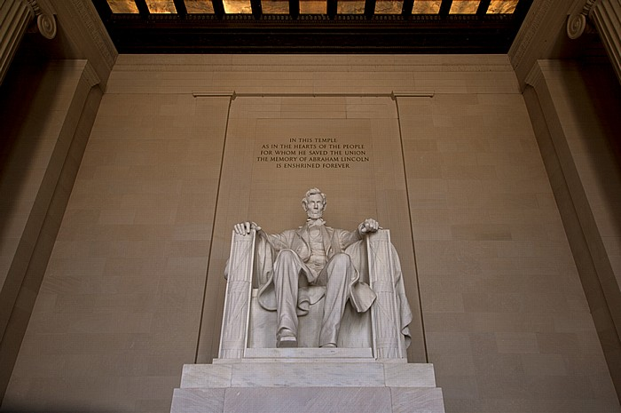 Washington, D.C. National Mall: Lincoln Memorial