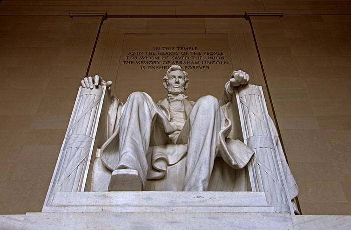 Washington, D.C. National Mall: Lincoln Memorial