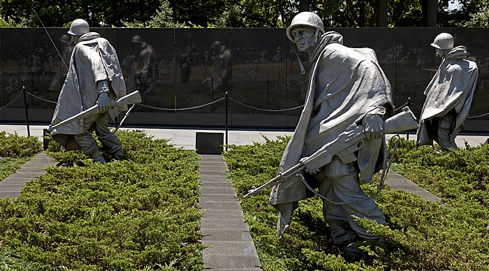 Washington, D.C. National Mall (West Potomac Park): Korean War Veterans Memorial