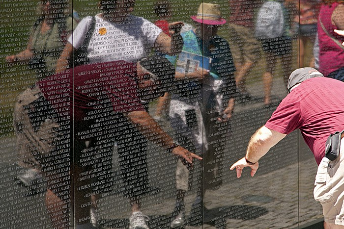 Washington, D.C. National Mall: Vietnam Veterans Memorial